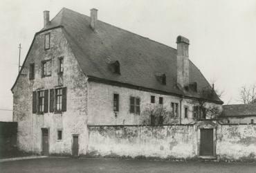 Pfarrhaus vor dem Umbau 1922