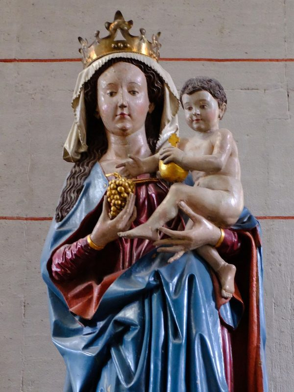 Madonna mit Traube (um 1480)  Basilika St. Matthias, Trier